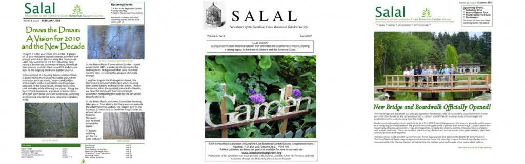 View the Salal Archive